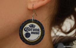 Comment réaliser des boucles d'oreille à partir de capsules de bière avec Déco[De]clic