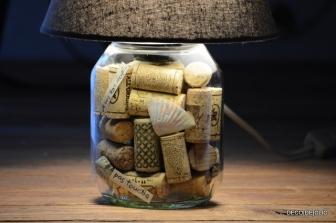 """Créez une lampe à partir d""""un pot de nutella avec Decodeclic"""