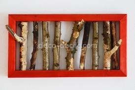 Réaliser un porte-manteau original à partir de branche de bois