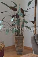 Un pot à faux fond pour surélever vos plantes à partir de bois de palette