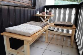 Fabriquer un banc en bois de palette avec table intégrée pour votre jardin
