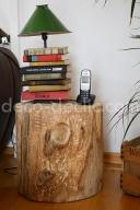 Transformer une souche d'arbre en table basse de salon