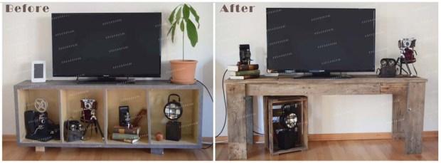 Créer un meuble à partir d'une palette avec Decodeclic
