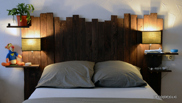 bois et palettes id es d co originales partir de. Black Bedroom Furniture Sets. Home Design Ideas