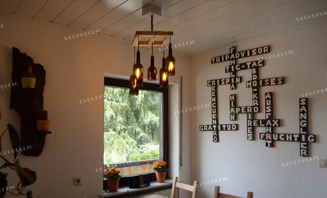 Idée De Décoration Murale Scrabble En Palette