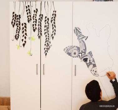 Idées créatives pour customiser une armoire ikea