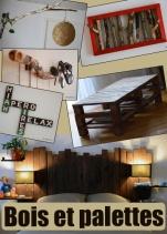 Construisez vos meubles à base de palettes ou des éléments déco en bois flotté
