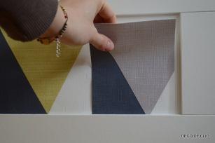 Idée créative pour customiser sa commode ikea avec Décodeclic