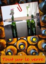 Des idées créatives et déco à partir de bouteille en verre