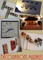 Pratiques ou juste esthétiques, découvrez avec Déco[De]clic des décorations murales à réaliser facilement chez vous