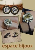 Créer vos bijoux avec le mécanisme d'une vieille montre ou avec des capsules de bière