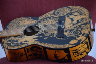 How to sharpie my guitare ou comment customiser sa guitare à l'aide d'un marqueur par Deco De[clic]