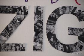 Réalisez un patchwork de photos de vos amis pour une décoration murale design au style industriel