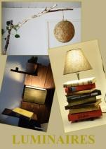 fabriquez vos propres lampes ou customisez-les à l'aide de bois flotté, de vieux livres et bien plus.