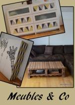 Une idée de déco, un déclic? Customisez ou fabriquez vos propres meubles avec Déco[De]clic