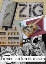 Des activités créatives avec Deco[De]clic pour customiser vos meubles à l'aide de papier, carton, de peinture et de marqueur