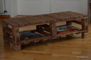 Réalisez une table de salon au look hipster avec des palettes avec Déco[De]clic