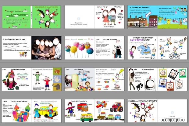 Créez un livre pour enfant personnalisé avec Deco[De]clic